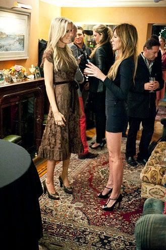 "Real Housewives of New York City - Season 5 - ""A New New York"" - Aviva Drescher and Carole Radziwill"