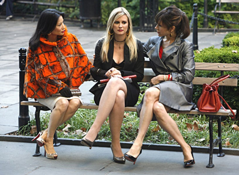 """Cashmere Mafia - """"Stay With Me"""" - Lucy Liu as Mia, Bonnie Somerville as Caitlin, Frances O'Connor as Zoe"""
