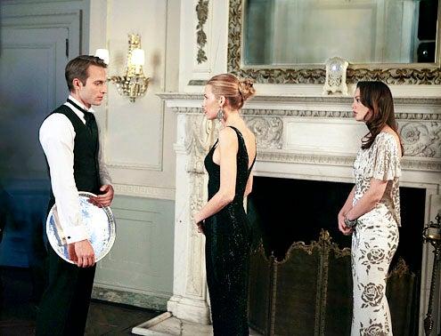 "Gossip Girl - Season 4 - ""It-Girl Happened One Night"" - David Call, Blake Lively and Leighton Meester"