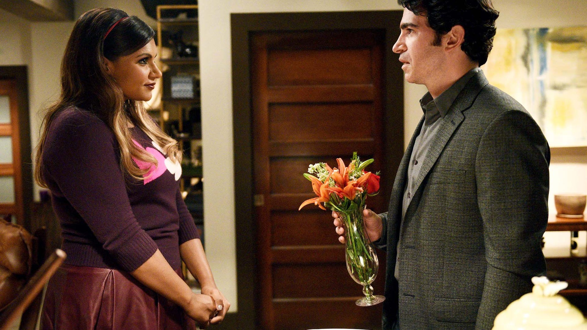 Mindy Kaling and Chris Messina, The Mindy Project