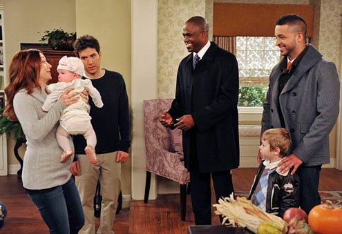 "How I Met Your Mother - Season 7 - ""The Rebound Girl"" - Alyson Hannigan, Josh Radnor, Wayne Brady, Jai Rodriguez"