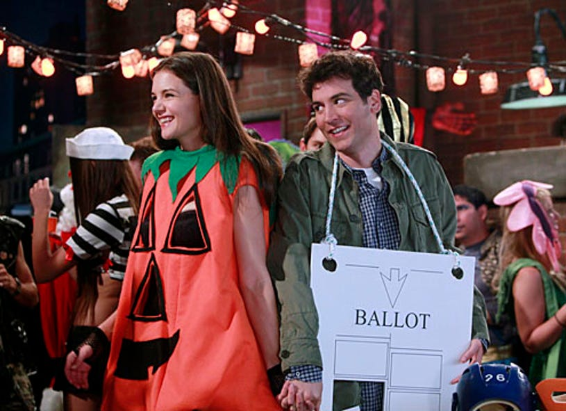 """How I Met Your Mother - Season 7 - """"Perfect on Paper"""" - Katie Holmes,  Josh Radnor"""