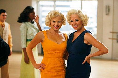 "Smash - Season 2 - ""The Producers"" - Megan Hilty and Kathie Lee Gifford"