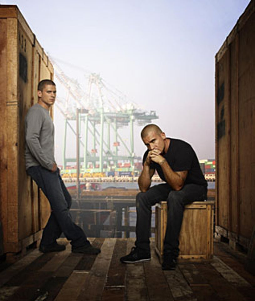 Prison Break - Season 4 - Wentworth Miller as Michael, Dominic Purcell as Lincoln