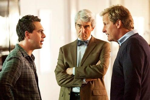 "The Newsroom - Season 1 - ""We Just Decided To"" - Thomas Sadoski, Sam Waterston and Jeff Daniels"