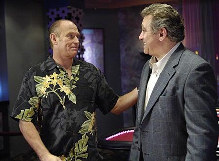 "Psych - Season 1, ""Poker"" - Corbin Bernsen as Henry Spencer, Dan Lauria as Mr. Peterson"
