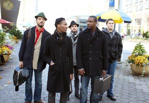 """Treme - Season 2 - """"On Your Way Down"""" - Jonathon Batiste, Tony Jarvis, Phillip Kuehn, Rob Brown and Joseph Saylor"""