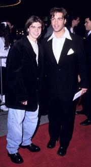 """Matthew Lawrence and Joey Lawrence - """"Broken Arrow"""" premiere, Feb. 1996"""
