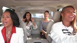 Queen Latifah and Jada Pinkett Smith Let Loose In This Wild Carpool Karaoke Preview