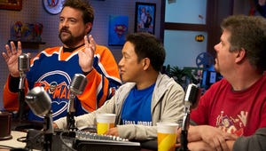 Exclusive First Look: Kevin Smith Takes Comic Book Men to a New Dimension in Season 4 Poster