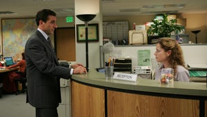 Steve Carell Surprised Jenna Fischer With an Office Reunion