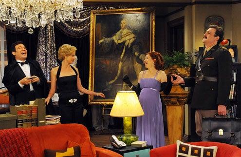 "How I Met Your Mother - Season 7 - ""Trilogy Time"" - Josh Radnor, Jason Segel, Cobie Smulders, Alyson Hannigan"