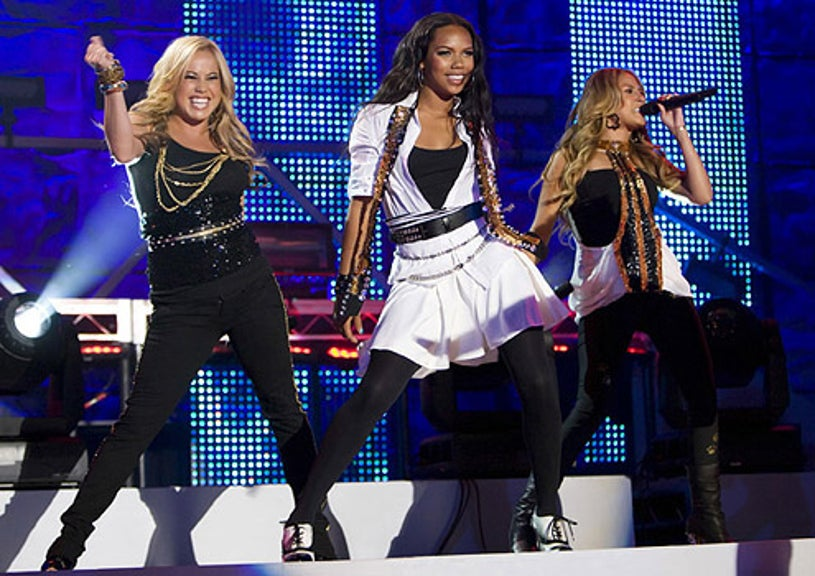 Disney Channel Games -  Sabrina Bryan, Kiely Williams and Adrienne Bailon perform at the Disney Channel Games Concert in Lake Buena Vista, Florida
