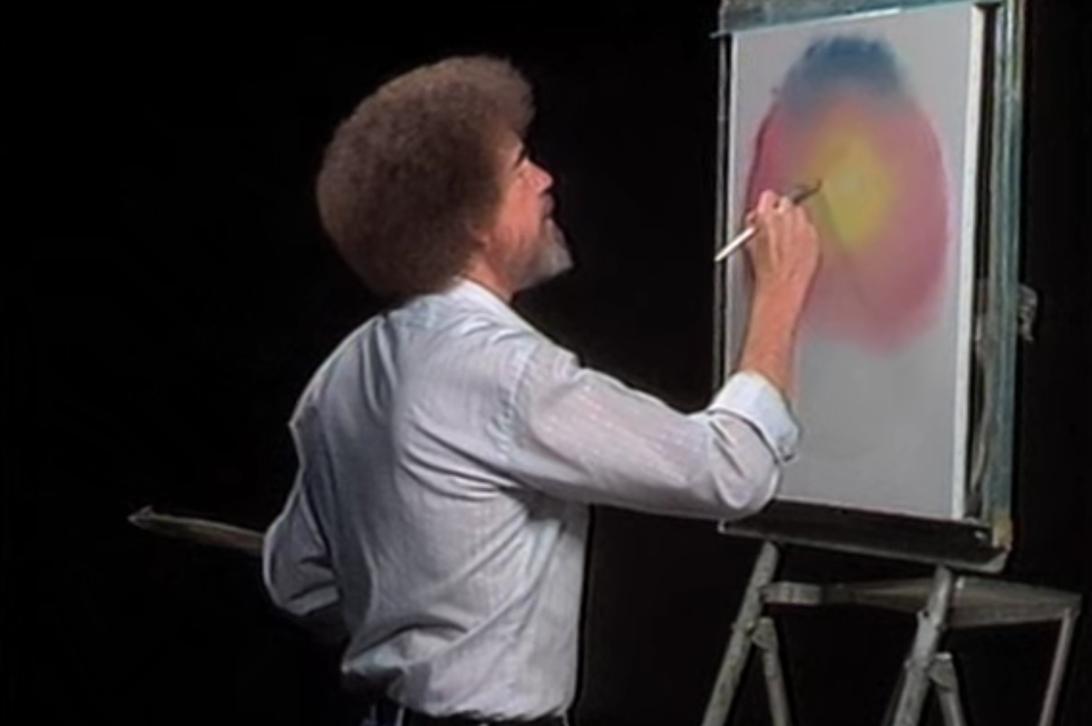 Bob Ross, The Joy of Painting