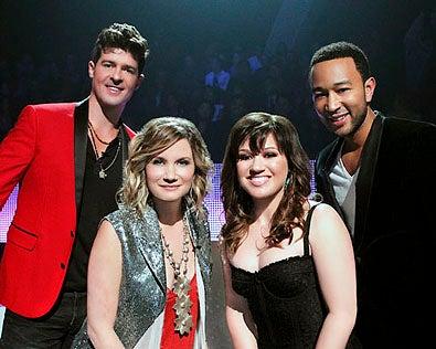 Duets - Season 1 - Robin Thicke, Jennifer Nettles, Kelly Clarkson and John Legend