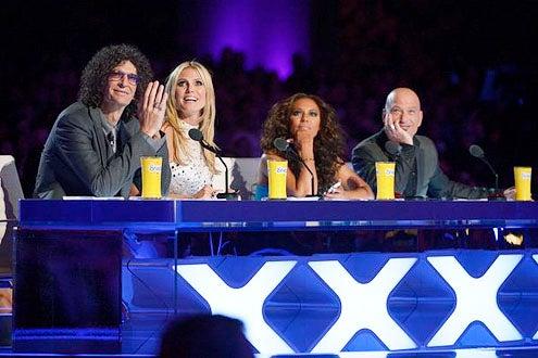America's Got Talent - Season 8 - Howard Stern, Heidi Klum, Mel B and Howie Mandel