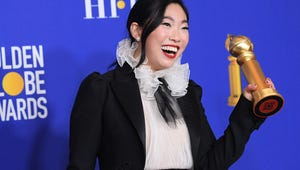 Awkwafina Makes History at the Golden Globes