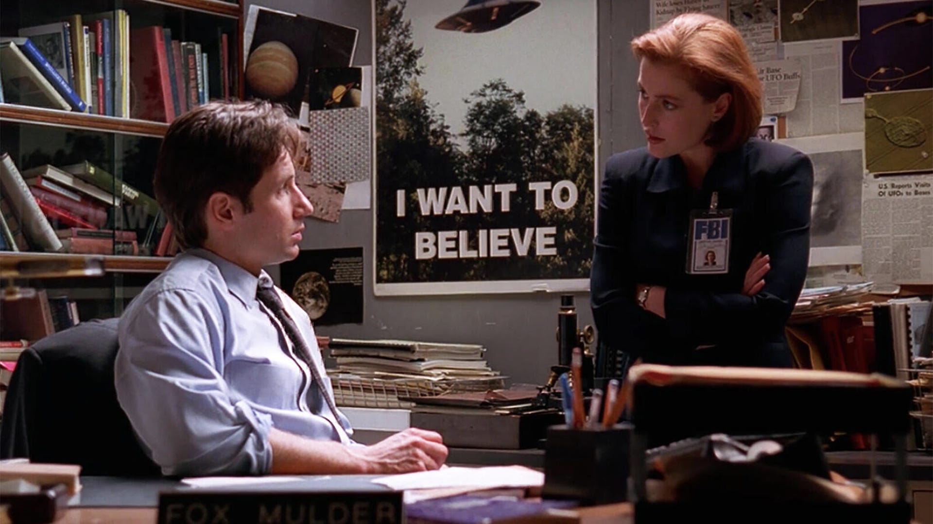 David Duchovny and Gillian Anderson, The X-Files