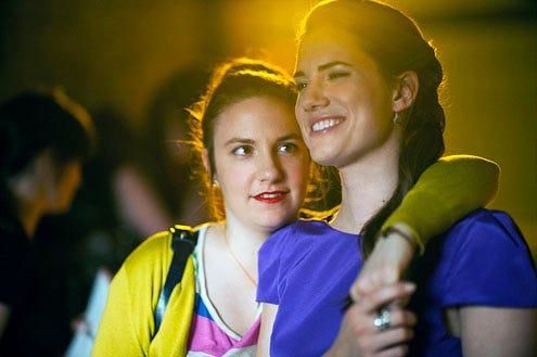 Girls - Season 1 - Lena Dunham and Allison Williams