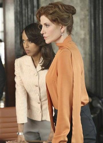 "Scandal - Season 2 - ""Snake in The Garden"" - Kerry Washington, Melinda McGraw"