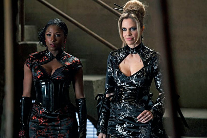 """True Blood - Season 5 - """"Somebody That I Used to Know"""" - Rutina Wesley and Kristin Bauer van Straten"""