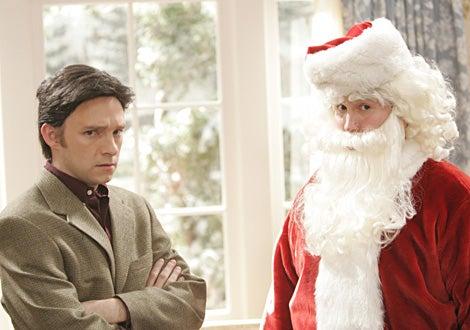 "Studio 60 -""The Christmas Show""- Nathan Corddry as Tom Jeter as Chris Hansen, Nate Torrence as Dylan Killington as Santa"