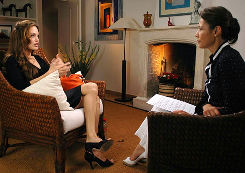 Dateline NBC - Angelina Jolie and Ann Curry in an exclusive interview