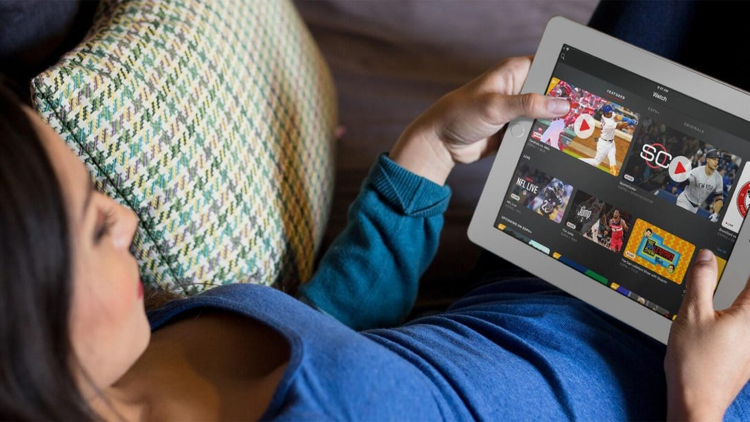 ESPN Plus iPad