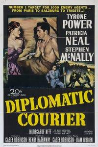 Diplomatic Courier as Ernie