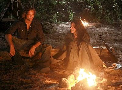 "Lost - Season 6 - ""Recon"" - Josh Holloway, Evangeline Lilly"