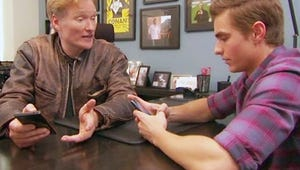 VIDEO: Conan and Dave Franco Try Their Luck on Tinder