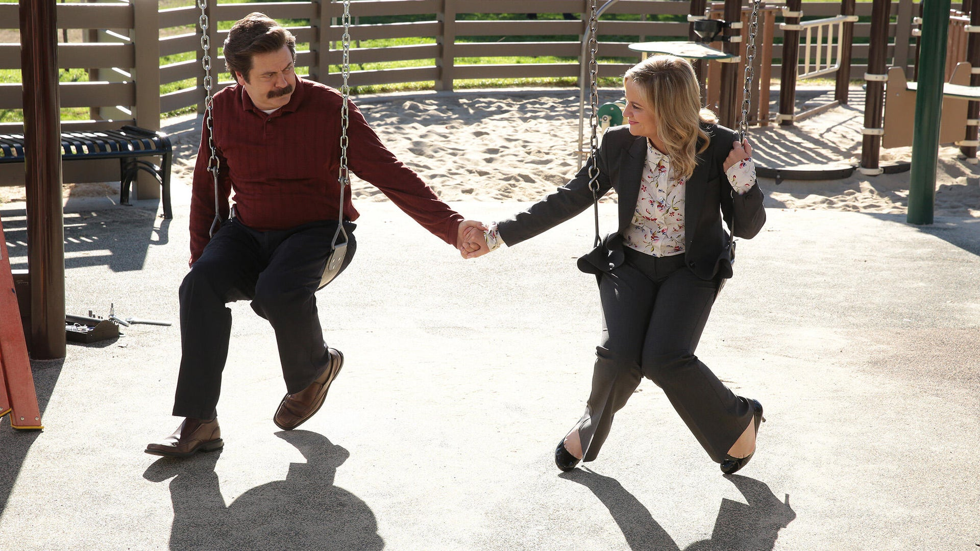 Nick Offerman and Amy Poehler, Parks and Recreation