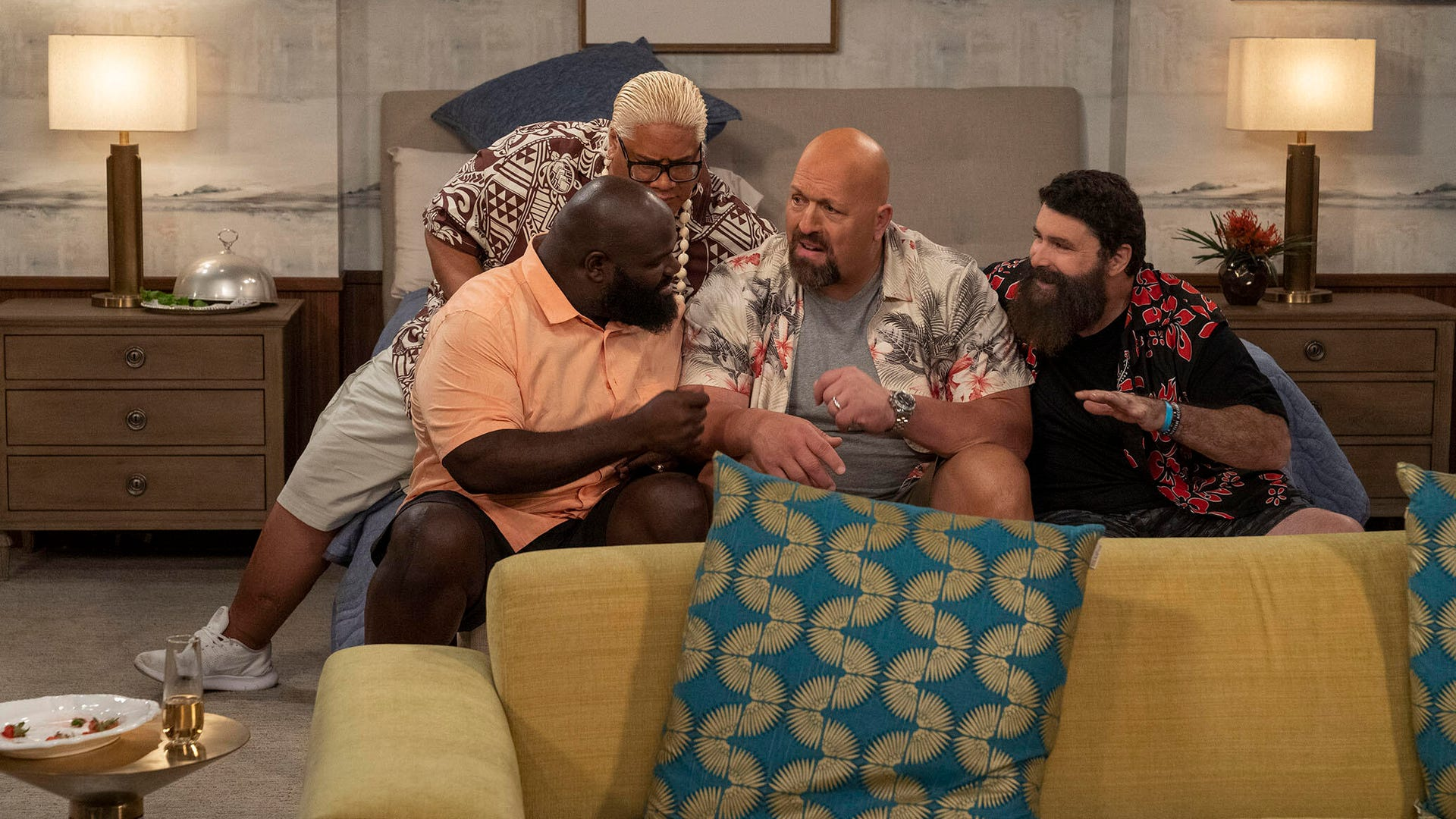 Rikishi, Mark Henry, The Big Show, and Mick Foley, The Big Show Show