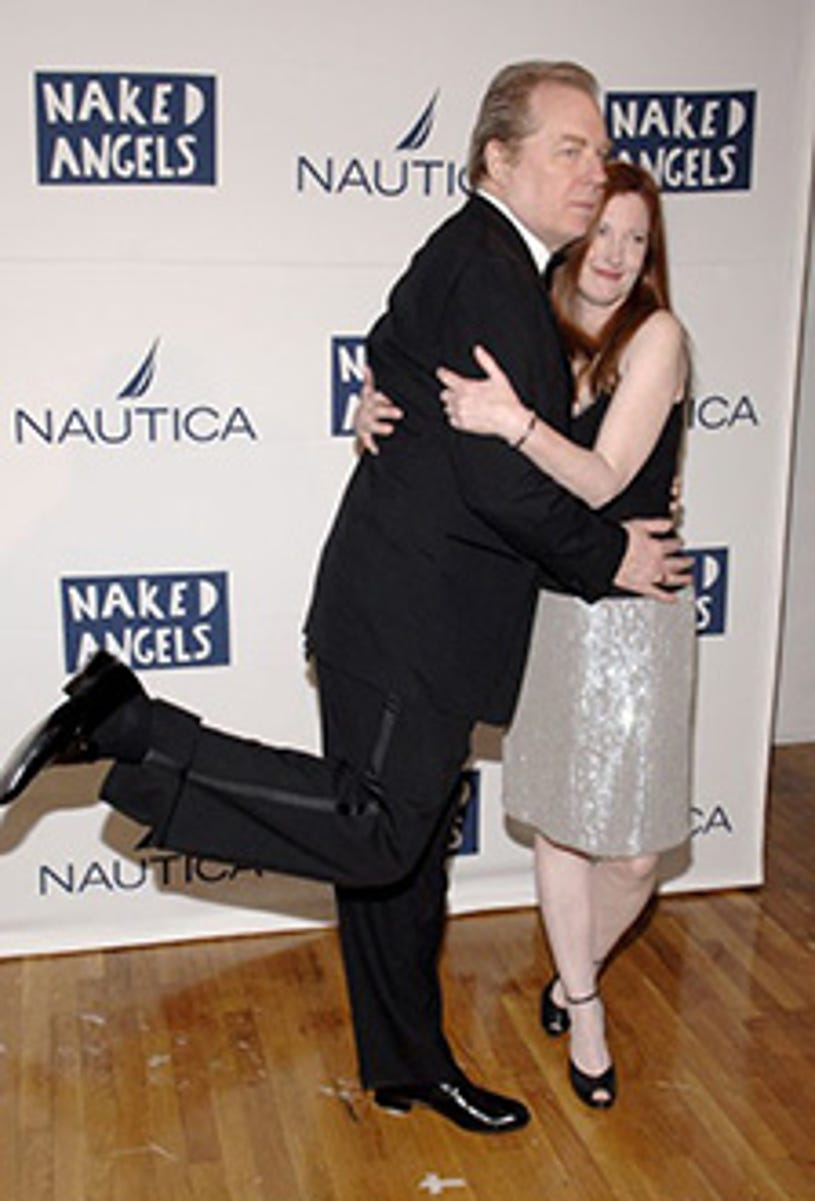 """Michael McKean and Annette O'Toole - """"Fish Fry: An All-Star Roast of Fisher Stevens"""" to benefit Naked Angels in New York City, May 23, 2005"""