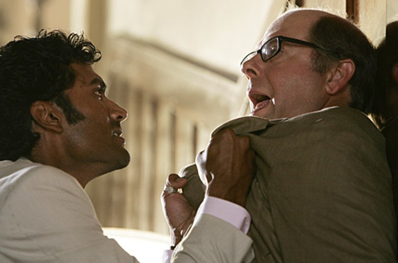 "Heroes - ""Four Months Later"" - Sendhil Ramamurthy as ""Mohinder Suresh"", Stephen Tobolowsky as ""Bob"""