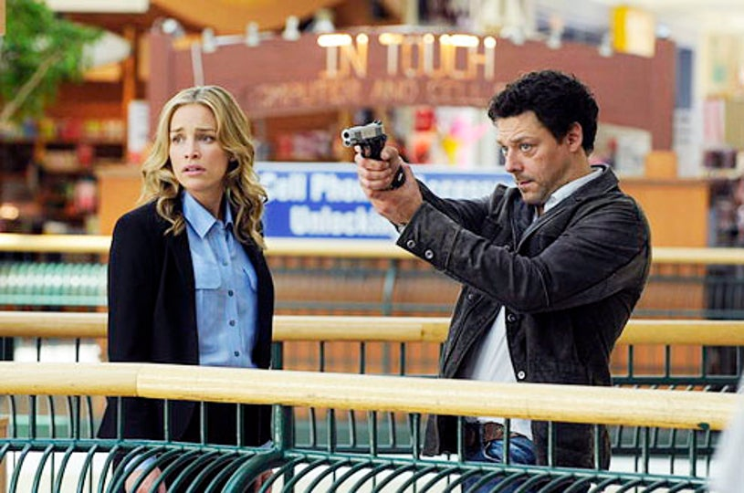 """Covert Affairs - Season 3 - """"Glass Spider"""" - Piper Perabo and Richard Coyle"""