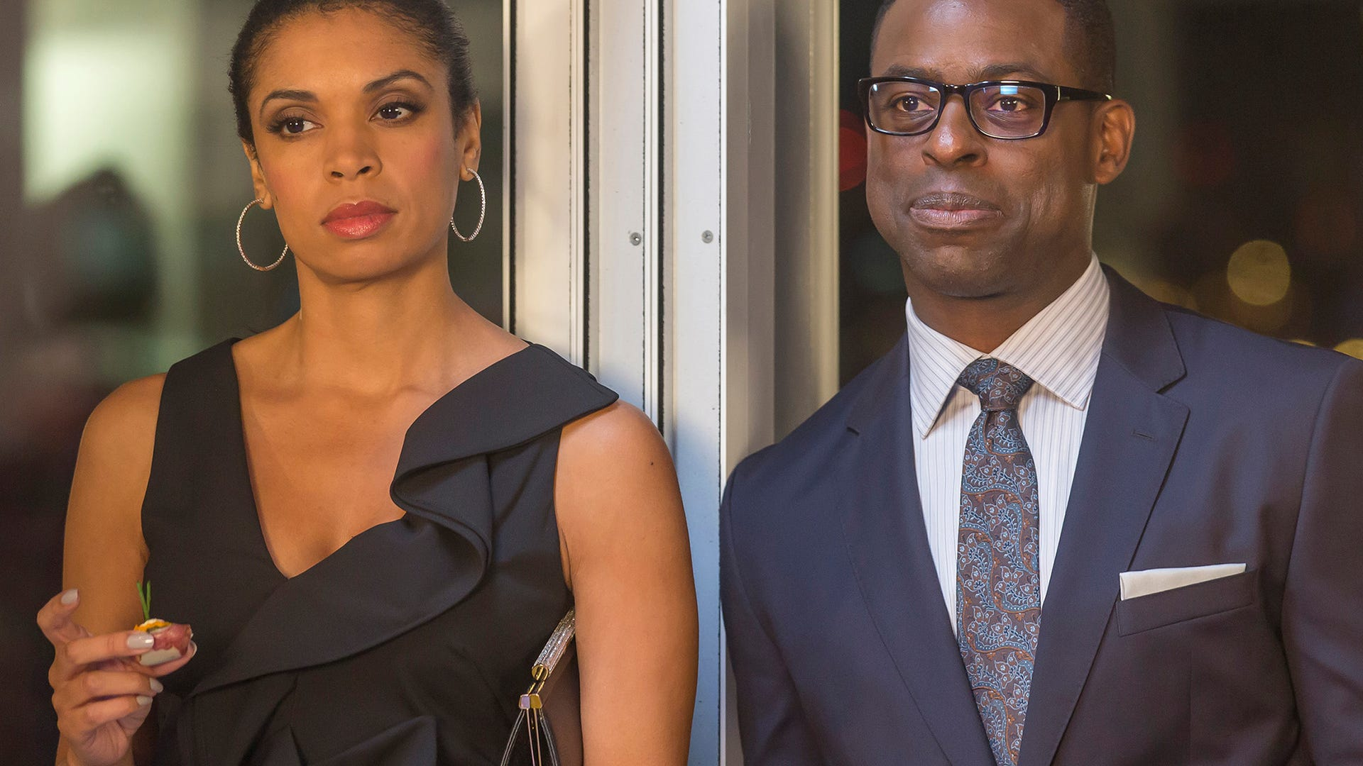 Susan Kelechi Watson and Sterling K. Brown, This Is Us