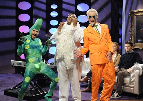 """Saturday Night Live - Season 37 - """"Charlie Day"""" - Charlie Day, Kenan Thompson and Bill Hader"""