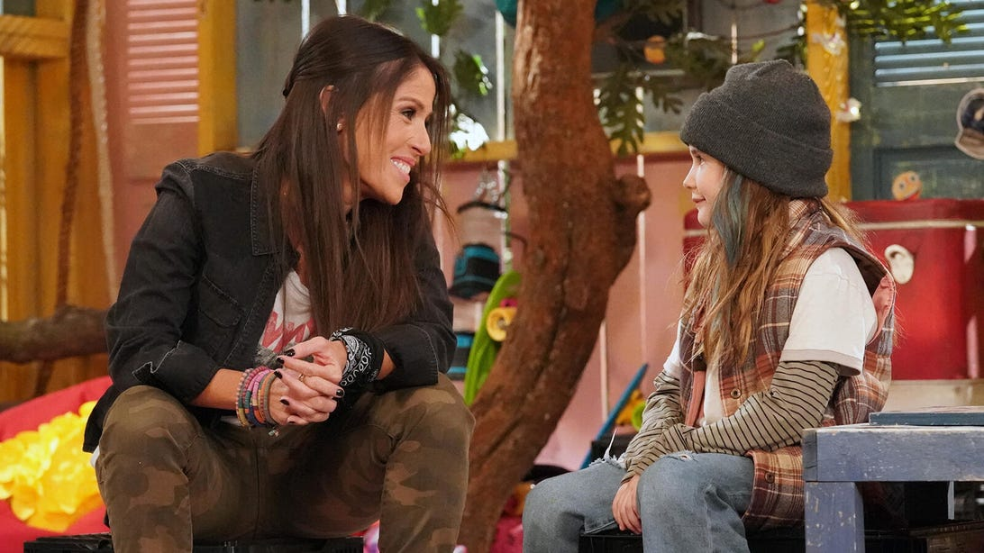 Soleil Moon Frye and Quinn Copeland, Punky Brewster