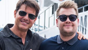 Tom Cruise Forcing James Corden to Skydive Is a Very Rewarding Experience
