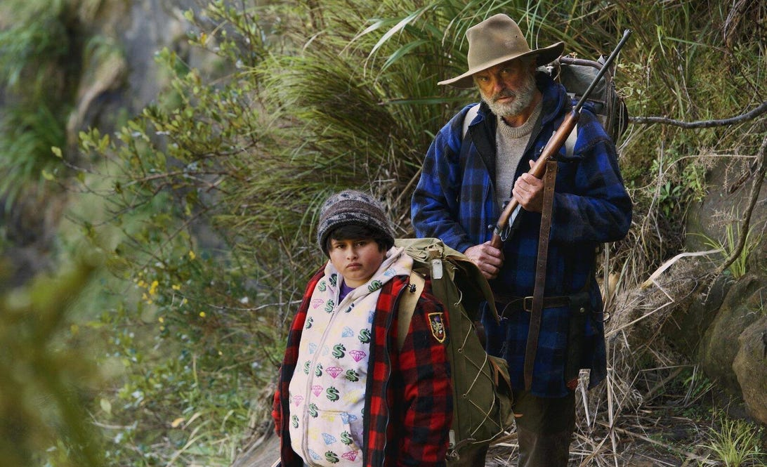 Julian Dennison and Sam Neill, Hunt for the Wilderpeople