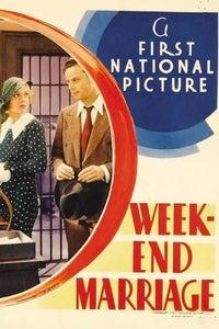 Week-End Marriage as Peter Acton