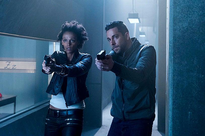 Heroes Reborn - Season 1 - Pilot - Judith Shekoni, Zachary Levi