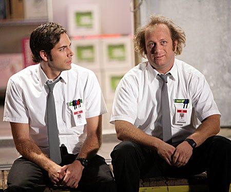 "Chuck - Season 2, ""Chuck vs. Tom Sawyer"" - Zachary Levi as Chuck, Scott Krinsky as Jeff"