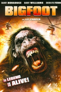 Bigfoot as Simon Quint