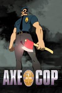 Axe Cop as King of England