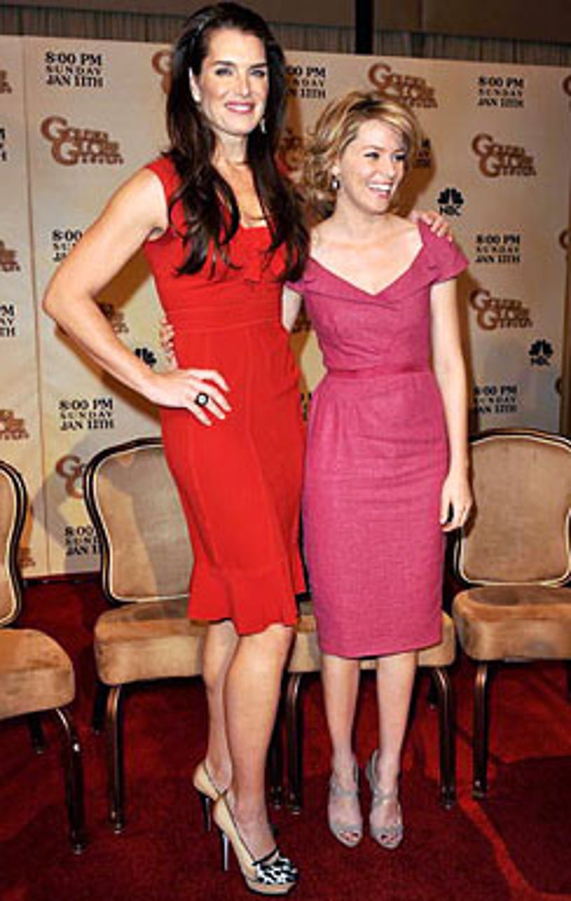 Brooke Shields and Elizabeth Banks - The 66th Annual Golden Globes nomination announcements in Beverly Hills, December11, 2008