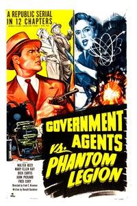 Government Agents vs. Phantom Legion as Willard