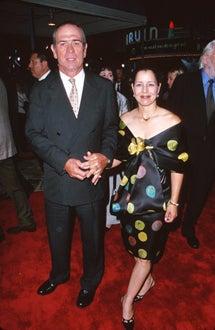 """Tommy Lee Jones and Dawn Laurel Jones - """"Space Cowboys"""", Aug. 2000"""
