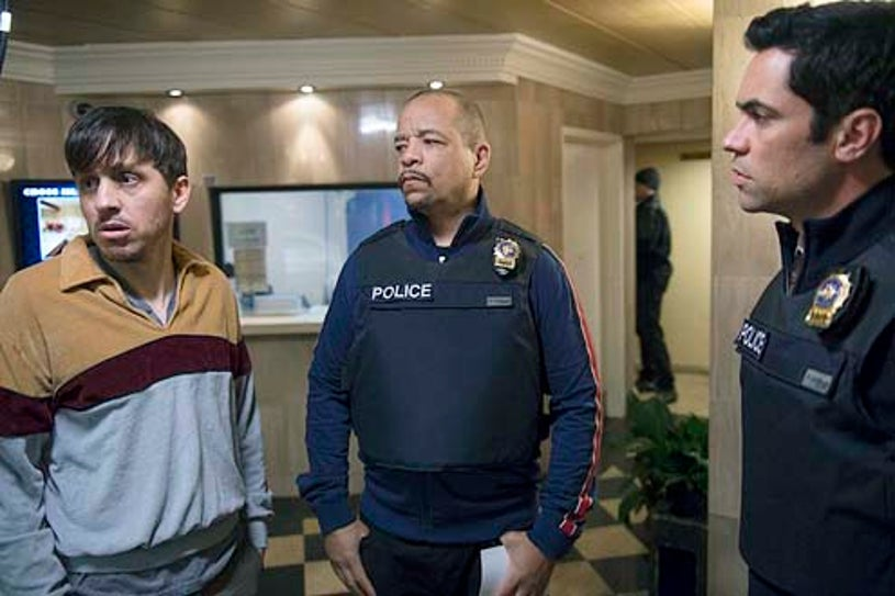"""Law & Order: Special Victims Unit - Season 15 - """"Wednesday's Child"""" - John Sousa, Ice-T and Danny Pino"""